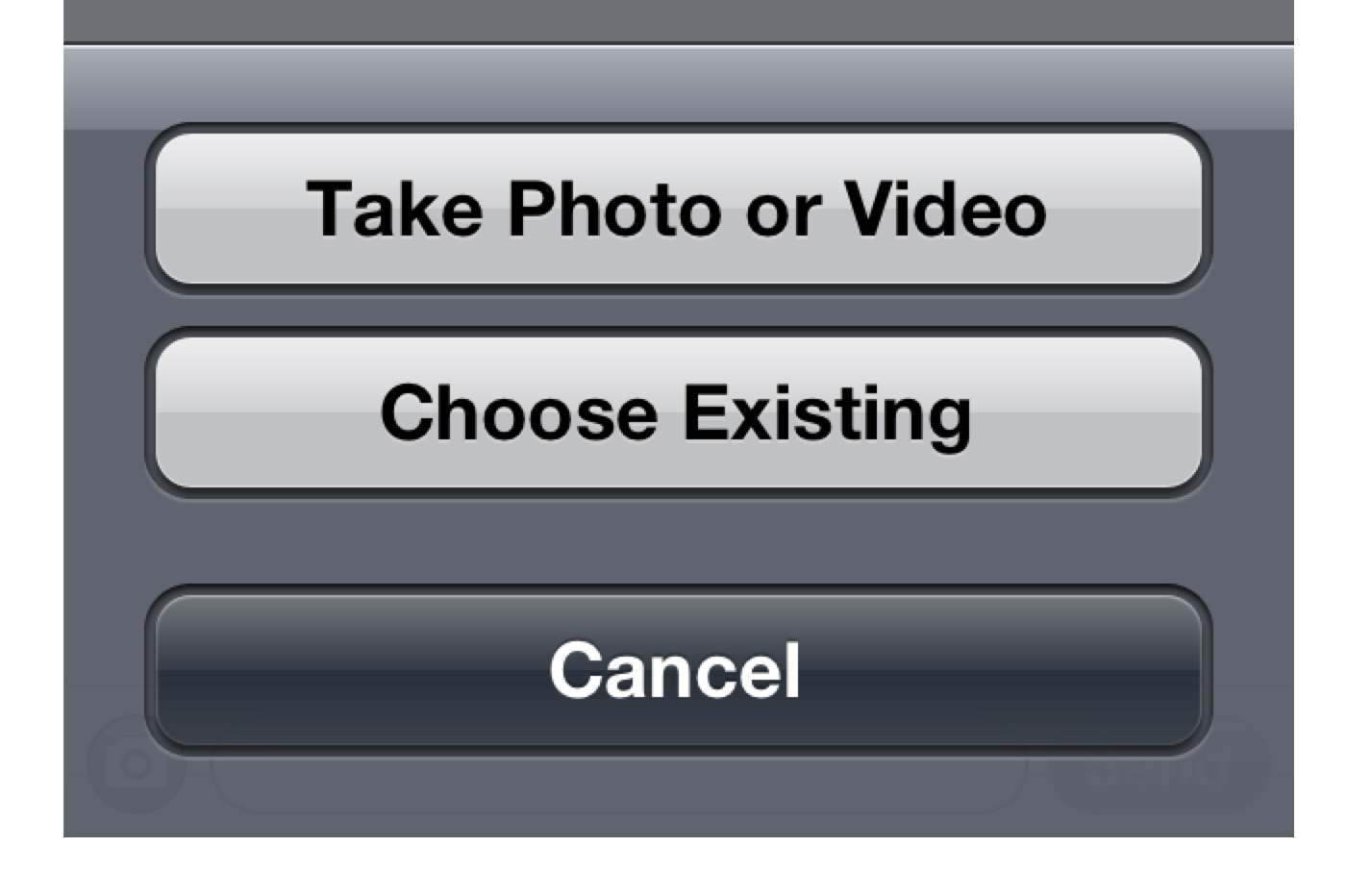 how to send shortcode text on iphone