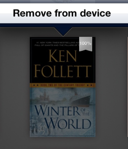 kindle paperwhite delete books from cloud
