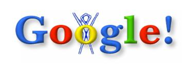 The very first google doodle.